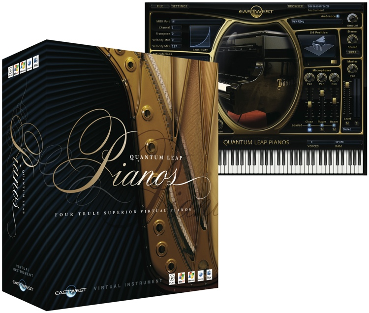 East West Pianos Gold WIN/MAC Download Version